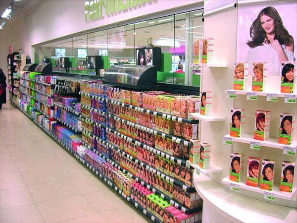 Arredamento negozi di profumeria perugia e terni for Negozi d arredamento